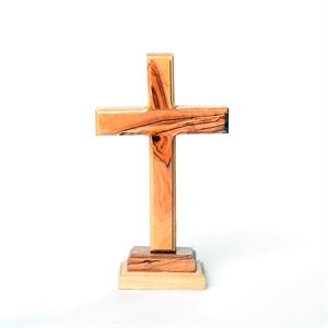 Picture of Olive Wood Cross Small