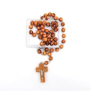 Picture of Faire Trade Olive Wood Rosary