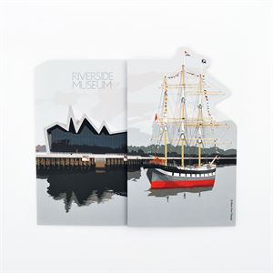 Picture of Riverside 3D folded Gift Card