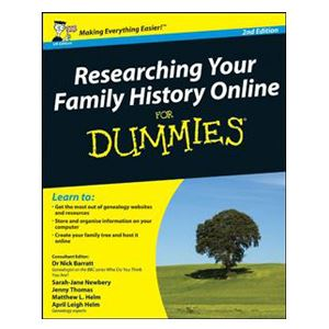 Picture of Researching your Family History Online for Dummies
