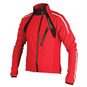 Picture of Endura Mens Equipe Thermo Windshield Jacket Red
