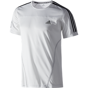 Picture of adidas Mens Running T-shirt White