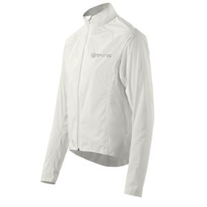 Picture of SKINS Mens Cycle Rain Jacket White