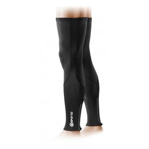 Picture of SKINS Unisex Cycle Legwarmers Black