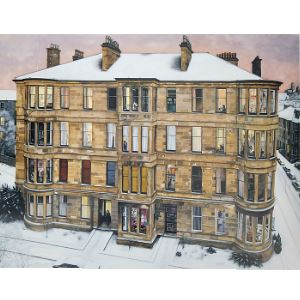Picture of Windows in the West Large Mounted Print