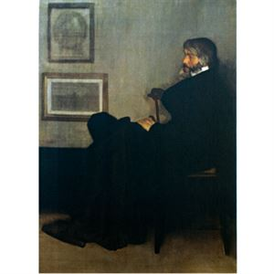 Picture of Portrait of Thomas Carlyle Postcard