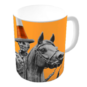 Picture of Colourful Duke Mug Yellow