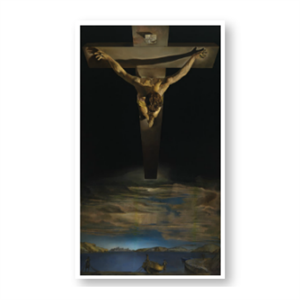 Picture of Dali Christ of St John of the Cross Prayer card
