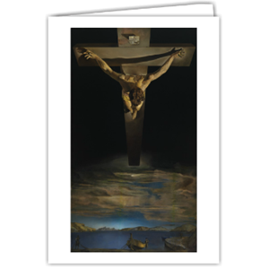 Picture of Dali Christ of St John of the Cross Greetings Card