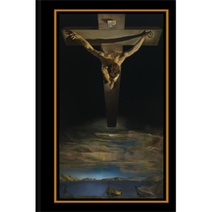 Picture of Dali Christ of St John of the Cross Journal