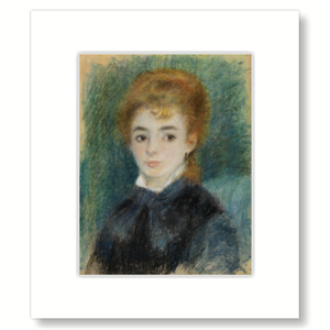 Picture of Lady with Auburn Hair Mounted Print