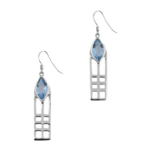 Picture of Mackintosh Lines Drop Earrings