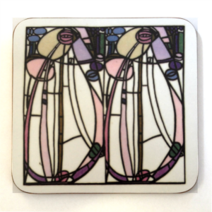 Picture of Mackintosh Stained Glass Coaster