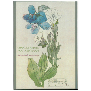 Picture of Mackintosh Botanical Paintings Gift Cards Set