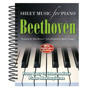 Picture of Ludwig Van Beethoven: Sheet Music for Piano