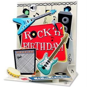 Picture of Rock 'n' Birthday Card