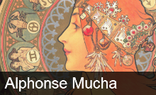 Picture for category Alphonse Mucha   In Quest of Beauty