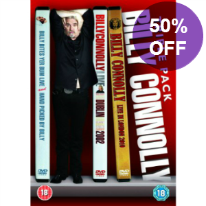 Picture of Billy Connolly Live Triple DVD Pack