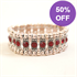 Picture of Crystal and Red Costume Bracelet