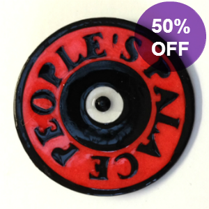 Picture of Vinyl Record Brooch