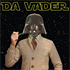 Picture of Da Vader Greetings Card