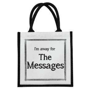 Picture of Away for the Messages Shopping Bag