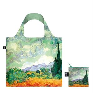 Picture of Vincent Van Gogh A Wheat Field with Cypresses LOQI bag