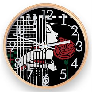 Picture of Mackintosh Menu Card Wall Clock