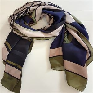 Picture of Musical Review Silk Scarf