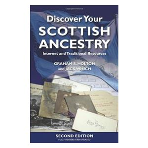 Picture of Discover your Scottish Ancestry by Graham S. Holtan and Jack Winch