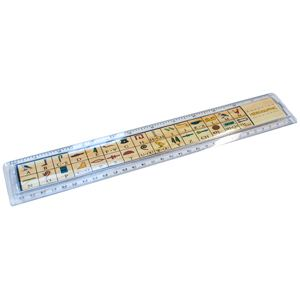 Picture of Egyptian Hieroglyphic 30cm Ruler