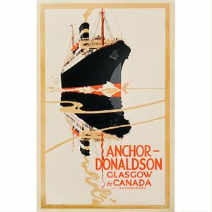 Picture of Anchor Donaldson Mounted Print