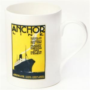 Picture of Anchor Line Bone China Mug