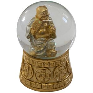 Picture of Buddha Happiness Snow Globe