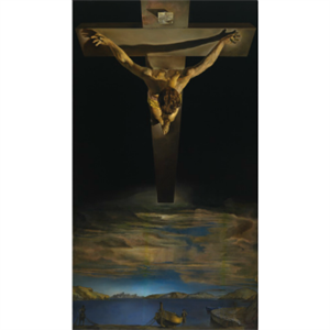 Picture of Dali Christ of St John of the Cross Large Print