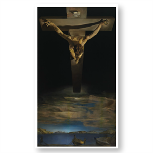 Picture of Dali Christ of St John of the Cross Postcard