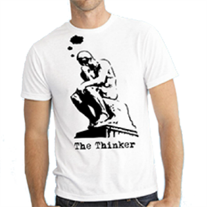 Picture of The Thinker T-shirt