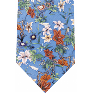Picture of Japanese Lily Silk Tie