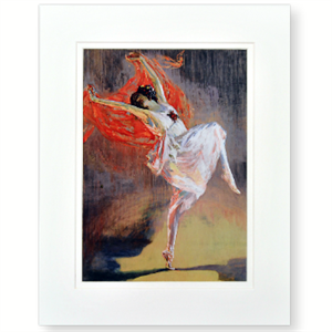 Picture of Anna Pavlova Small Mounted Print