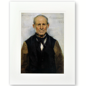 Picture of Auld Willie Medium Mounted Print