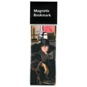Picture of Lady in Black Magnetic Bookmark