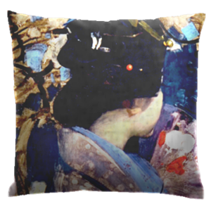 Picture of Japanese Lady Cushion