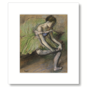 Picture of Green Dress Mounted Print