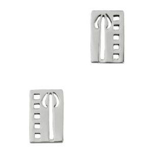 Picture of Mackintosh Tulip Stud Earrings