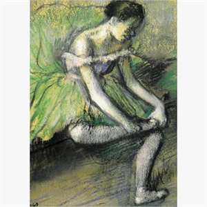 Picture of The Green Dress Postcard