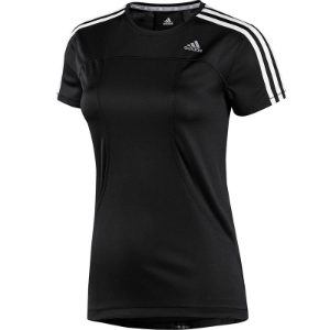 Picture of adidas Womens Running T-shirt Black