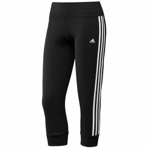 Picture of adidas Womens 3/4 Pants Black