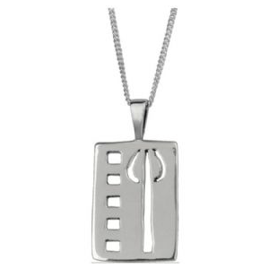 Picture of Mackintosh Tulip Pendant Necklace