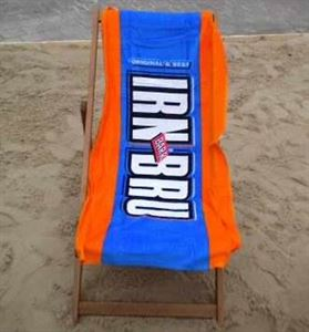 Picture of Irn Bru Beach Towel