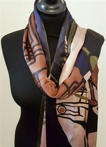 Picture of Scottish Musical Review inspired Silk Scarf